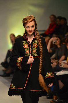 Українська краса ~~ Ukrainian beauty ~~ that braid is real!