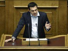 O primeiro-ministro grego, Atenas