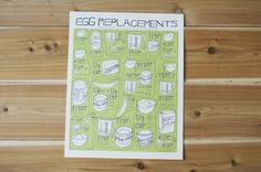 Egg Replacer Poster $12