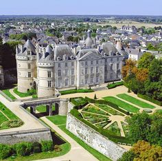 Château du Lude ~ Sarthe ~ Pays-de-la-Loire ~ France ~ It is a beautiful château on the banks of the Loire. The original medieval fortress, built to defend Anjou, has been added to over the centuries and now each facade is an example of a different era of French architecture. The chateau is one of the first you come to when arriving at the Loire valley from the north.