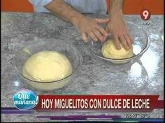 Miguelitos con dulce de leche - YouTube