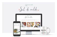 Plantilla Sal de molde:Template responsive para Blogger. Personalizable e instalación incluida