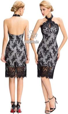 kısa abiye boyun asklı dantel,abiye,abiye elbise,abiye modelleri,siyah elbise, beyaz elbise,elbise modelleri ,mezuniye