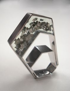 Platinum and Resin Ring