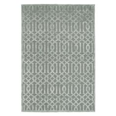 Trellis Rug - Sea Foam from Z Gallerie
