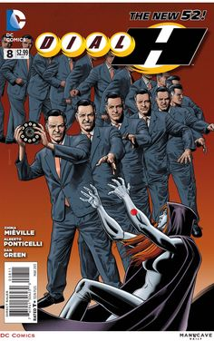 Dial H #8. Cover by Brian Bolland.