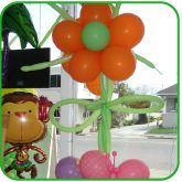 Flower BBirthday Balloon Decorations