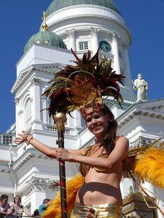 Helsinki Samba Carnival by Toni Kaarttinen, via Flickr