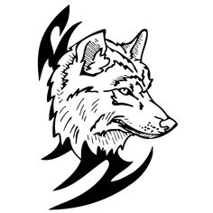 Easy to apply, this wolf wall decal is perfect for any nature buff. Made of vinyl, this wall art decal is perfect for any space.