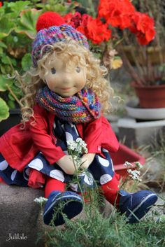 Waldorf inspired doll by julilale, Ula by julilale