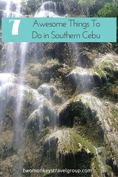 What would you do if you want to take a short break from the busy life that you have in the city? Where would you go if you want to give yourself a reward after weeks of stress and hassles? What if you only have a very limited time to unwind and be one with nature?  Head on to #SouthernCebu for a blissful getaway! I'm sure you've heard about whale shark encounter in #Oslob, but really, there's more to that! #ThingsToDo #Philippines #TwoMonkeysTravelGroup