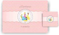 Princesas Disney Jogo Americano | Marga Brindes | Elo7