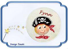 Button Pirat von Jasuki auf DaWanda.com