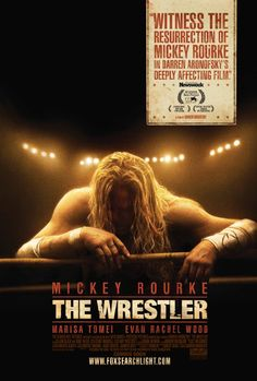 The Wrestler - a heinous looking Micky Rourke in one of his best roles - a sad, sad story