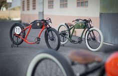 Retro Electric Bicycles - OTO Cycles Electric Bikes are Inspired by Mid-Century Bicycle Design (GALLERY)