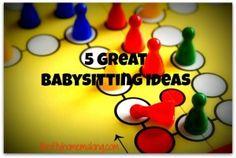 5 Tips for Babysitting