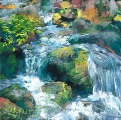 The Falls in Fall by BrendaFerguson -- Brenda Ferguson
