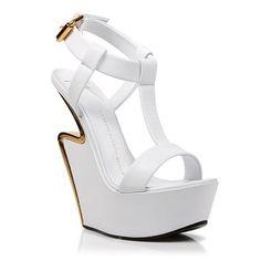 Platform Wedge Sandals - Jee Signature Giuseppe Zanotti Heels