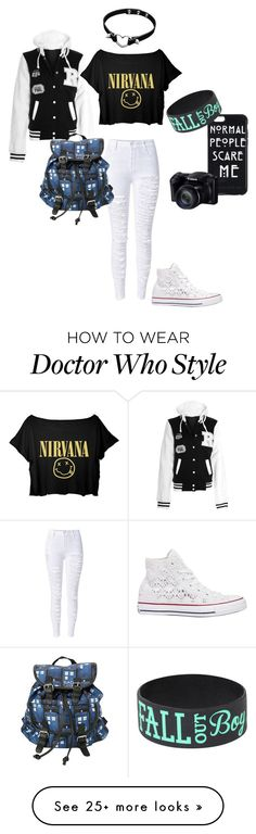 """Extremely bored"" by blackveilbridesbvbsixx on Polyvore featuring Converse"
