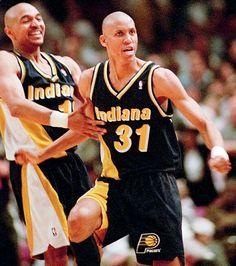 Marc Jackson and Reggie Miller