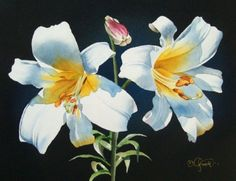 Happy Easter, painting by artist Jacqueline Gnott