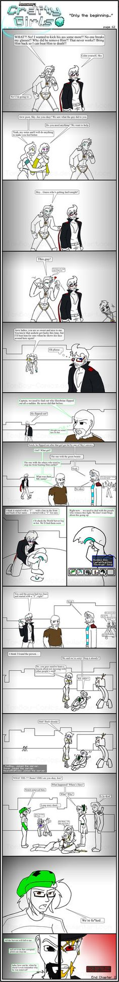 Minecraft Comic: CraftyGirls Pg 62 by TomBoy-Comics on deviantART
