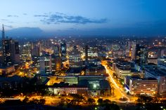 Nairobi is the capital and largest city of Kenya. Description from afritorial.com. I searched for this on bing.com/images