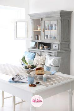 Syl loves, Krasilnikoff, stars, pastels, kitchen, happy mugs