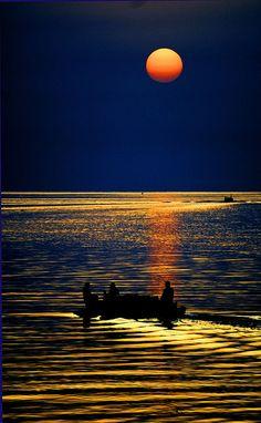 Night Shift Moonlight ~Al Danah, Saudi Arabia