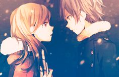 weheartit anime couple | anime couples | Tumblr | We Heart It
