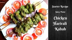 Chicken Hariyali Kabab or Chicken hariyali Tikka is very famous kabab recipe which is served as a starter in parties. Here Chicken is marinated in green past. Appetizer Recipes, Appetizers, Tikka Recipe, Moist Chicken, Indian Food Recipes, Ethnic Recipes, Sushi, Chicken Recipes, Ground Chicken Recipes