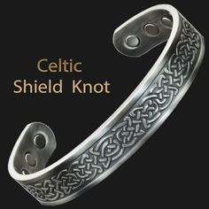 Magnetic Bracelet For Pain Celtic Bracelet Copper Bracelet For Arthritis  Magnetic Bangle Men Women Celtic Shield 223e0be861