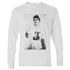 Morrissey The Smiths Punk Men Long Sleeve Tshirt