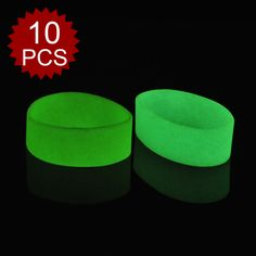 GOGO Silicone Wristbands, Big Rubber Bracelets, Party Favors