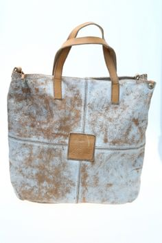 Women Medium bag White Leather CAMPOMAGGI