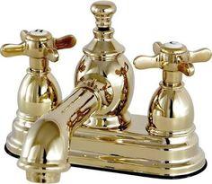 bathroom faucet brass