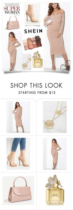 """SheIn 2/9"" by dilruha ❤ liked on Polyvore featuring Marc Jacobs and tarte"