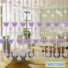 Resultado de imagen para cortinas de piedras de cristal