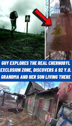 #Guy #Explores #Chernobyl #Exclusion #Zone #Discovers #Grandma #Son