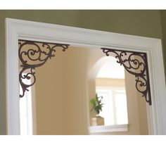 corner brackets in door way lovely look - Decorative Brackets