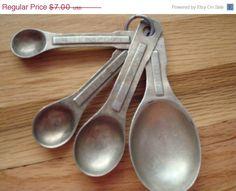 vintage measuring spoons...still have them still use them...my originals