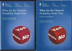 What Are The Chances? Probability Made Clear Math 2 DVD +Book The Great Courses #TheGreatCourses