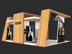 exhibition stand 3d model max 7