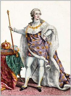 French King Louis XVI., (1754-1793)France 1780.