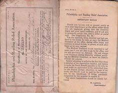 1925 P&R Philadelphia & Reading Railroad Relief Association Booklet