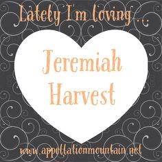 #babynames that Lately I'm loving ... Jeremiah Harvest!