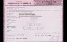 OBAMA 'NAME CHANGE' FOUND IN CANADA.    hummm     click to read more