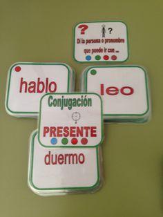 AUDICIÓN Y LENGUAJE: Barajas y otros juegos (Gramática - Morfosintaxis) Spanish Class, Learning Spanish, Teaching, Education, Gabriel, Food, Montessori, Games, Ideas