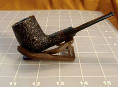Ashton Straight Billiard Briar Pipe (19) (No Reserve)