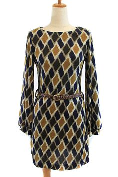 Our Diamond Print Knit Dress.  Call 423-545-9786 to order